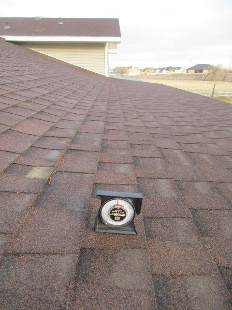 Improper Roof Covering Low Slope Roof